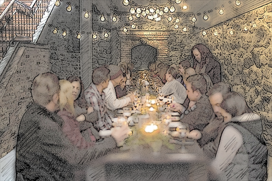 Cellar Party Rendering